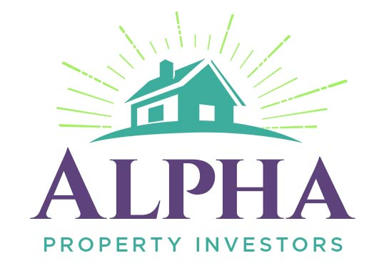 Alpha Property Investors logo design