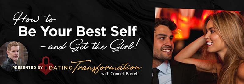 Connell Barrett Dating Transformation social media banner